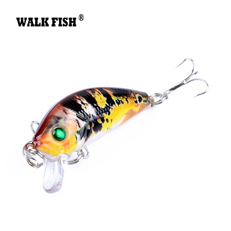 Walk Fish 1Pcs 3.8g 5cm Minnow Lure Fishing Tackle Fishing Kit Hard Bait 0.3-0.9m Jig Wobbler Plastic Lure Fishing Lure RM024 wldslure 1pc 54g minnow sea fishing crankbait bass hard bait tuna lures wobbler trolling lure treble hook