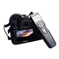 Viltrox MC C1 LCD Timer Remote Shutter Release Control Cable Cord for Canon 1500D 1300D 760D 800D 600D 77D 80D 200D M5 M6 EOS R|shutter release|remote shutter releasetimer remote -