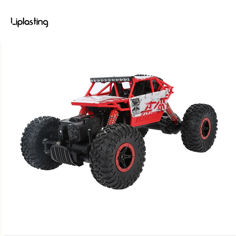 RC Car 4WD 2.4GHz Rock Crawlers Rally climbing Car 4x4 Double Motors Bigfoot Car Remote Control Model Off-Road Vehicle lynrc rc car 4wd rock crawlers hb180b 4x4 bigfoot double motors off road vehicle use aa battery page 9
