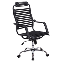 Lifted Health Office Chair Rotated Ergonomic Household Leisure Stool Bow Breathable Rubber Band Chair Double Layer Computer Seat