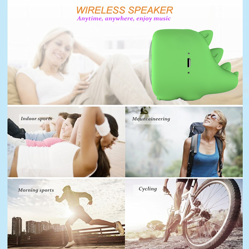 Image 5 - Cute Pet Wireless Bluetooth speakers Portable Column Sound bar Built in Speaker Column Bluetooth Speaker soundbar boom box Music-in Portable Speakers from Consumer Electronics