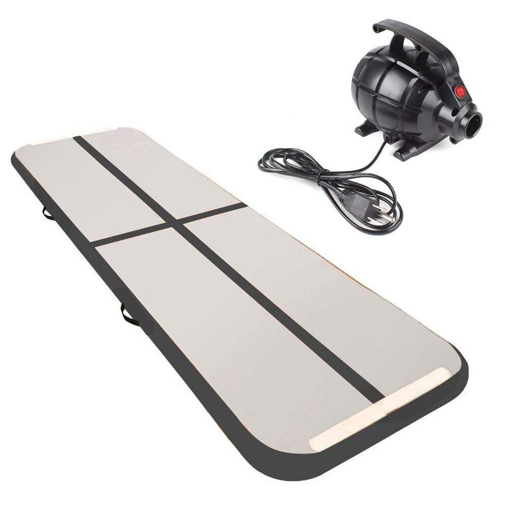 Tapis gonflable de taekwondo de tapis de dégringolade d'air de gymnastique de voie d'air gonflable de 6 m pour l'entraînement à la maison de gymnase