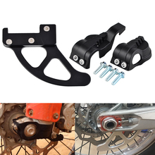 Motorcycle Fork Shoes Cover Rear Brake Disc Guard Protector For KTM EXC SX XC XCW 125 200 250 300 350 450 Husqvarna TE FE TC FC