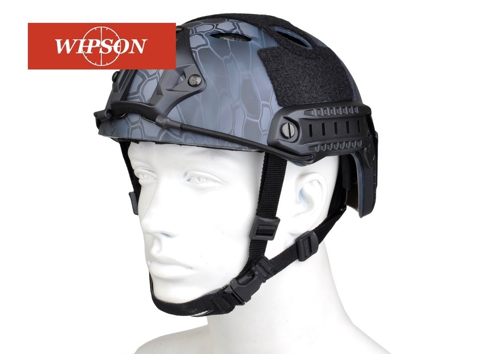 WIPSON Army Military Tactical Helmet Cover Casco Airsoft Helmet Accessories Emerson Paintball Fast Jumping Protective Face tactical army military helmet cover casco airsoft helmet accessories face mask helmet emerson paintball fast jumping protective