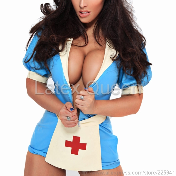 Latex Nurse Uniform 94