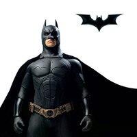 Batman Armor Suit Costume Sets Kids Christmas Halloween Cosplay Children Costume Gift Cartoon Superhero Half Face