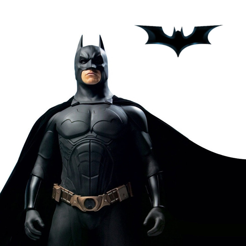 Halloween Batman Armor Suit Costume Sets Kids Cosplay Children Birthday Costume Gift Cartoon Superhero Half Face Mask Gift