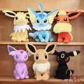 "Free shipping 6pcs/lot Pokemon Plush Toys 12"" Big Sitting Umbreon Eevee Espeon Jolteon Vaporeon Flareon Glaceon Leafeon"