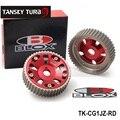 TANSKY-Blox Ajustável Engrenagem de Cronometragem Cam Engrenagens pulley kit Para TOYOTA Supra 1JZ 2JZ TE TK-CG1JZ-RD