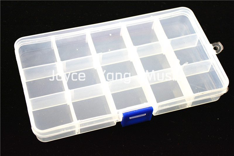 100pcs Alice Acoustic Electric Guitar Picks Plectrums+1 Large Plastic Picks Holder Case Box Free Shipping
