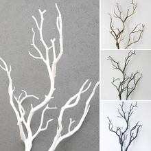 Wedding Decoration Peacock Coral Branches Plastic Artificial Plants Dried Tree  M15