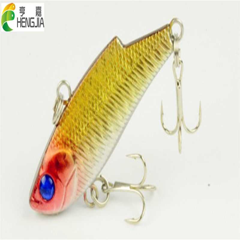 10pcs Vibration game VIB fishing lure CRANKBAITS HOOK BASS 5.5CM 10G 8#hooks hard plastic sea fishing tackle hard bait sealurer 5pcs fishing sinking vib lure 11g 7cm vibration vibe rattle hooks baits crankbaits 5 colors free shipping