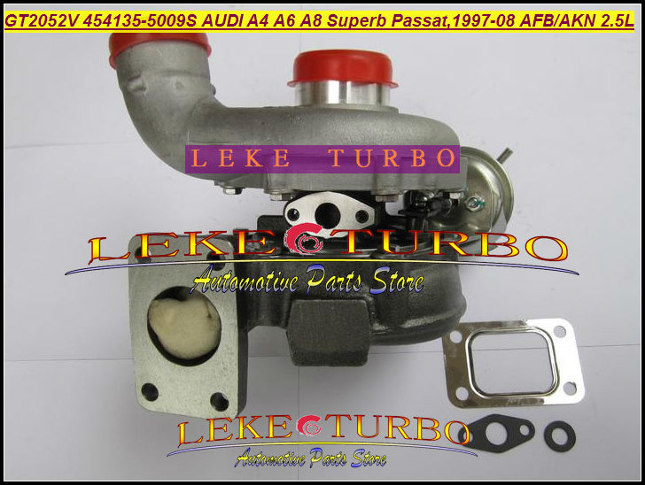 GT2052V 454135-5009S 454135-0001 454135 Turbo Turbocharger For Audi A4 A6 A8 For Volkswagen VW Passat superb AYM AKN 2.5L TDI
