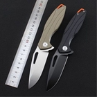 KESIWO new pocket folding knife D2 blade G10 handle ball bearing flipper outdoor camping hunting survival rescue knives EDC tool