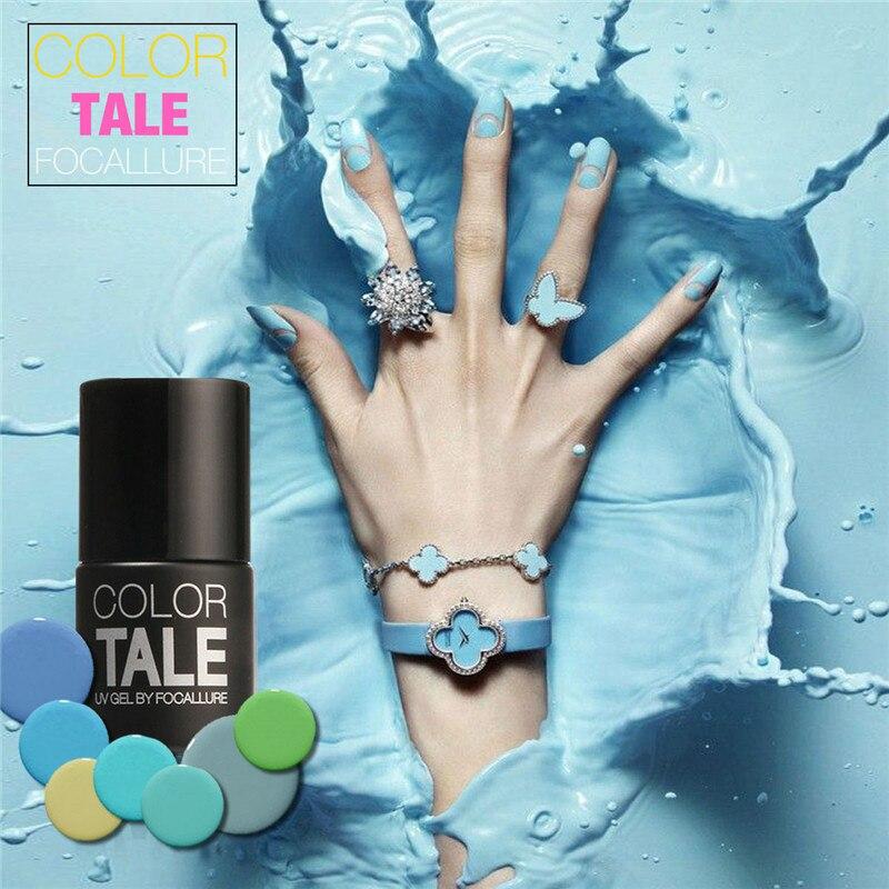 Focallure 12 Win Grey Uv Nail Polish Gel Nails Art Salon Led Soak Off Long Lasting