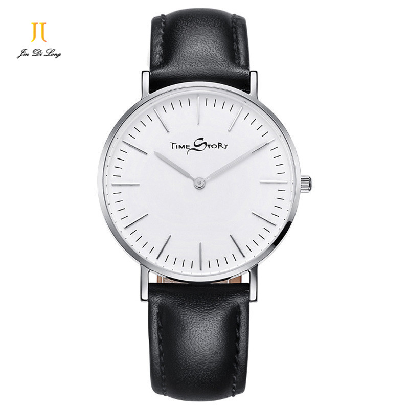 Brand TS Simple Ladies Quartz Watch Women Classic Ultra Slim Watches Leather Fashion Wrist Watch Waterproof Clock Relojes Mujer relojes mujer 2017 guou brand casual women watches fashion simple ladies quartz watch waterproof leather clock relogio feminino