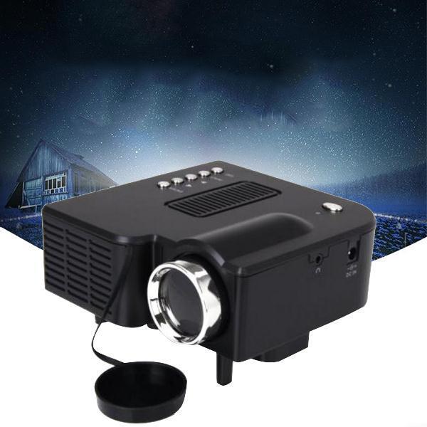 Portable Mini Home Cinema Theater Multimedia LED LCD Projector HD 1080P AV SD VGA USB HDMI +Remote AU