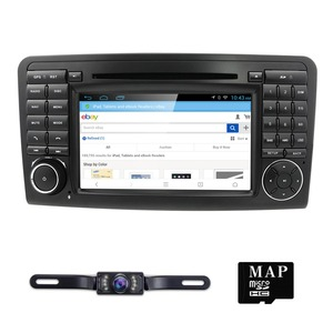Image 3 - 2Din Car DVD Player For Mercedes Benz ML Class W164 GL350 X164 ML320 GPS Navigation Radio Stereo BT DAB+ DTV SWC CAM MAP SD TPMS