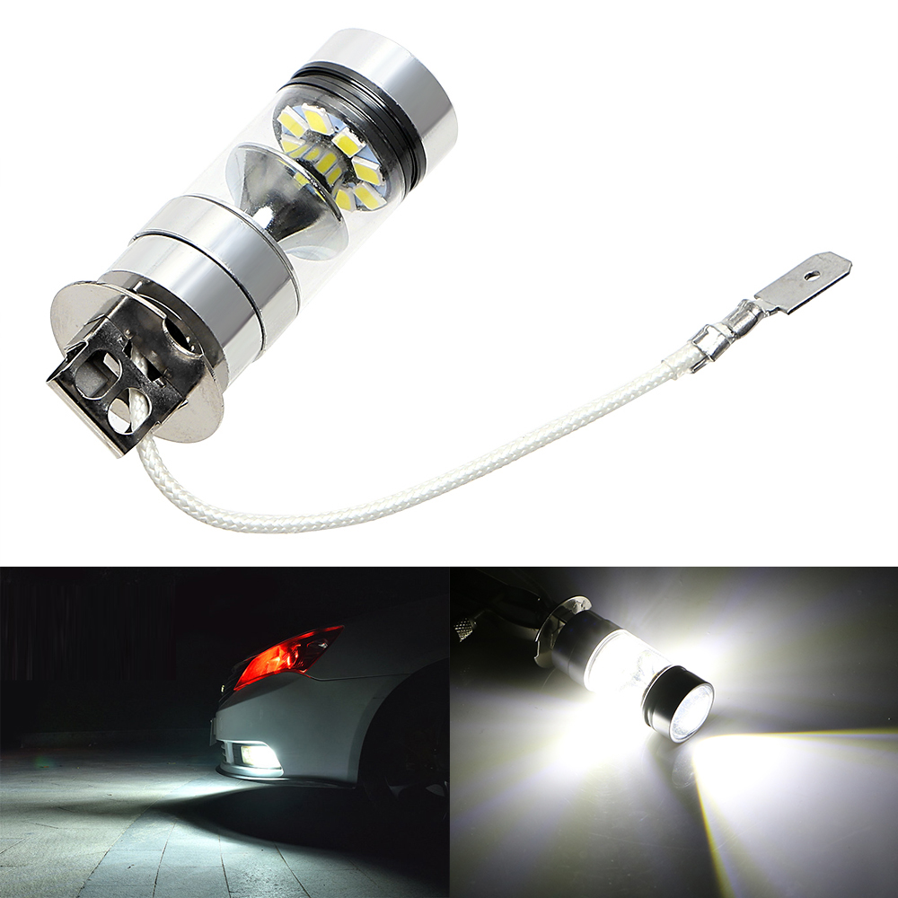 100W 12V H3 Car LED Headlight Headlamp Auto Head Light Lamps Replacement Bulbs High quality Car Fog Lamps Car Styling