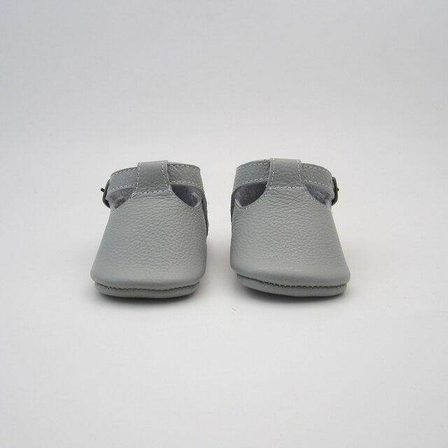 Мальчиков светло-серый Т-Бар обувь детская mocc