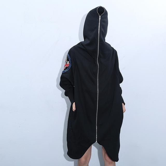 2016 Nueva moda Otoño invierno de alta calidad chaqueta con capucha de Gran tamaño de maternidad suelta maternidad abrigo de franela abrigos prendas de vestir exteriores
