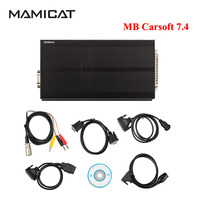 Professional MB Carsoft 7 4 Multiplexer MCU Controlled Interface ECU Chip Programmer For Benz Carsoft 7