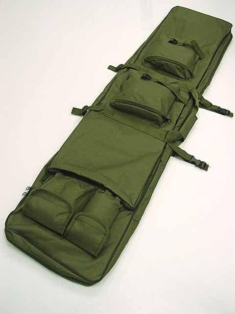 """48 """"SWAT pushkë dyfishtë taktike Mbajtëse çanta për armë zjarri OD BK"""