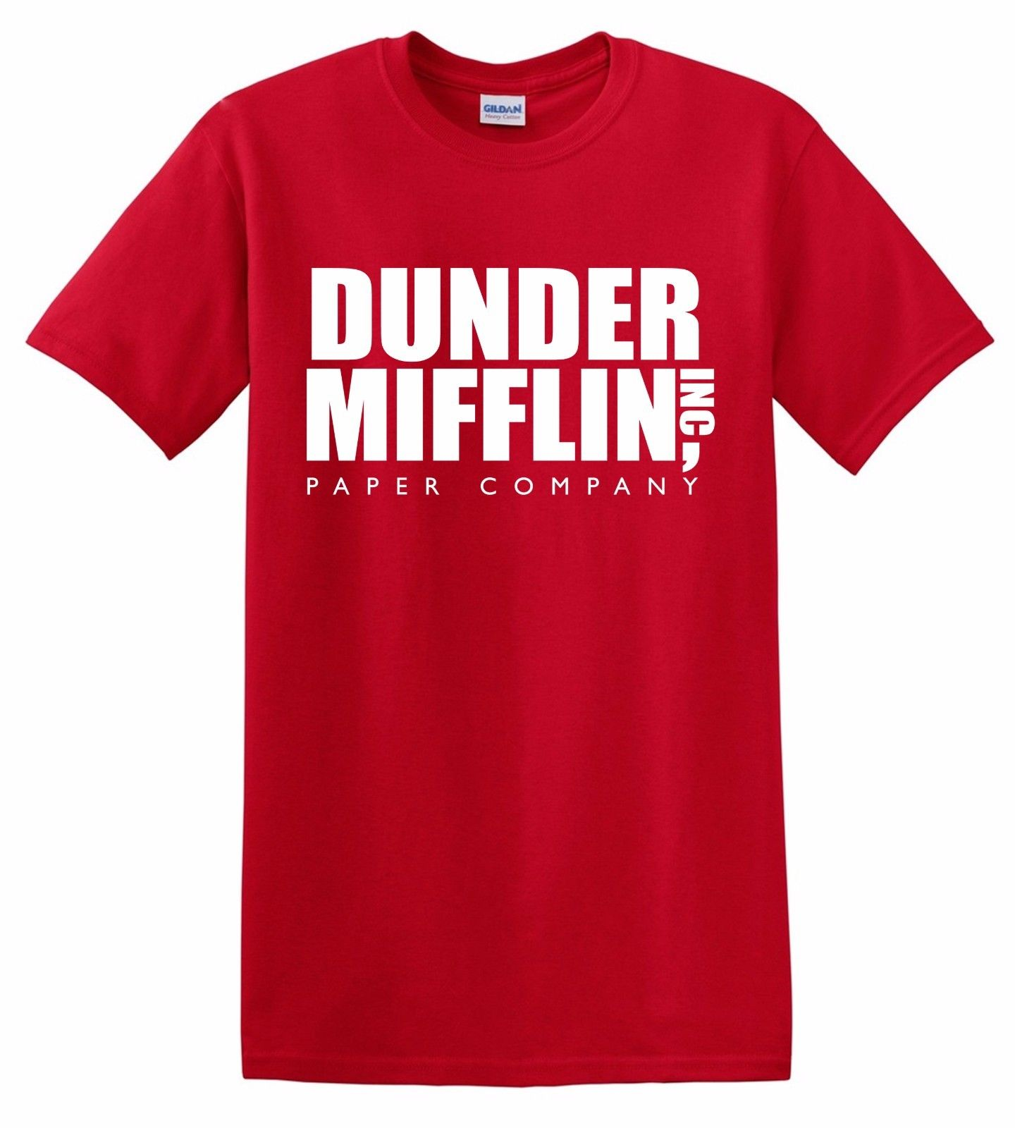 Dunder Mifflin T-Shirt Paper Company Inc The Office Michael Scott Co Dwight Jim