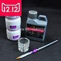 EM-124Nail Arte Kit de Uñas Kit de Herramientas de BRICOLAJE Polvo Líquido de Acrílico de La Pluma Cubeta de vidrio, Acrílico kit nail art + free gratis