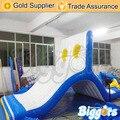 Inflatable Biggors Новый Дизайн Надувные Водные Горки Для Спортивных Игр