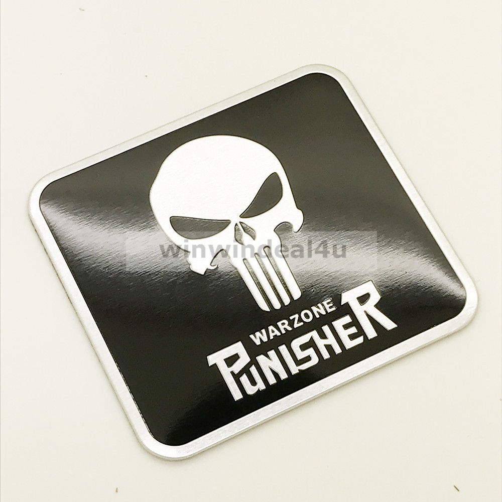 Aliexpress com buy car auto motorcycle punisher skull metal emblem badge decal sticker from reliable car stickers suppliers on hificar club