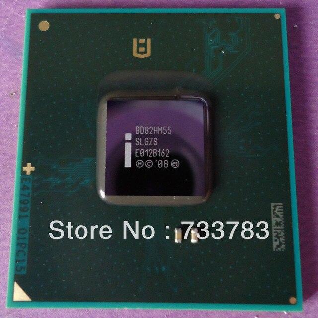 BD82HM55 SLGZS интегрированный чипсет 100% новая, Lead-free solder ball, убедитесь оригинальный, не отремонтированы или демонтажа