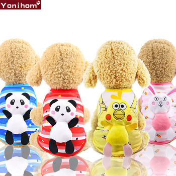 T Shirt Dog Cute Doll Pet Dog Clothes for Small Dogs Cat Vest Funny Clothing for Dogs Spring Summer Pet Clothes Summer Spring