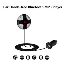 Universal USB Pantalla LCD Bluetooth Car Kit Reproductor MP3 Transmisor FM Inalámbrico de Audio Apoyo Tf Envío Gratis 12003063