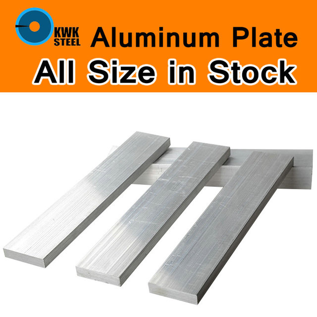 Aluminum Alloy 6061 Plate Aluminium AL Sheet DIY Material Model Parts Car Frame Metal for Vehicles Boat Industry Construction
