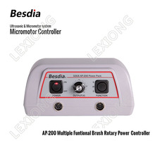 TAIWAN Besdia Ultrasonic & Micromotor system AP-200 Multiple Funtional Brush Rotary Power Controller
