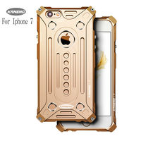 Cool Metal Aluminum Armor Thor Ironman Case For IPhone 7 Luxury Protect Phone Cover Shell Cases