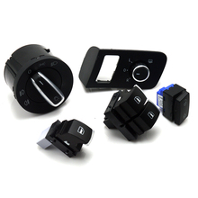 New Chrome high quality  Mirror switch window for VW Volkswagen Touran 2003-2015 Caddy 5K3 959 857 1TD962125 5ND941431A
