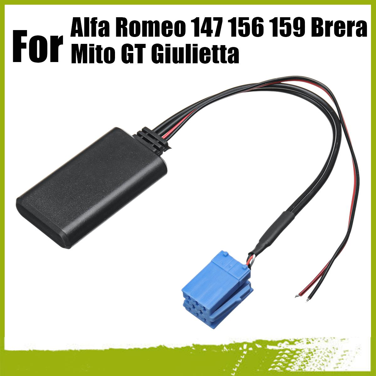 Cavo Aux per interfaccia radio stereo Aux per Alfa Romeo 147 156 159 Brera Mito Gt Kamenda
