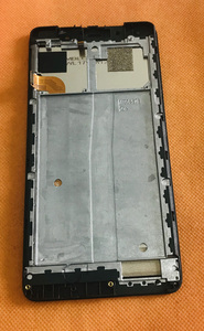 Image 2 - בשימוש המקורי LCD תצוגת מסך + מסך מגע + מסגרת עבור UHANS הערה 4 MTK6737 Quad Core משלוח חינם