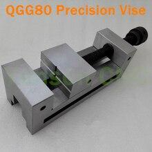"""QGG80 3,"""" ручной прецизионные инструментальные Тиски Вице-Ширина вице челюсти Max.100mm для осмотра точности/для трехмерных измерений/шлифовка и EDM"""