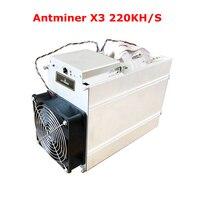 Antminer X3 220KH/S Asic CrptoNight Шахтер хэш чип BM1700 500 Вт высокая прибыль добыча специальный с БП для bitmain Новые