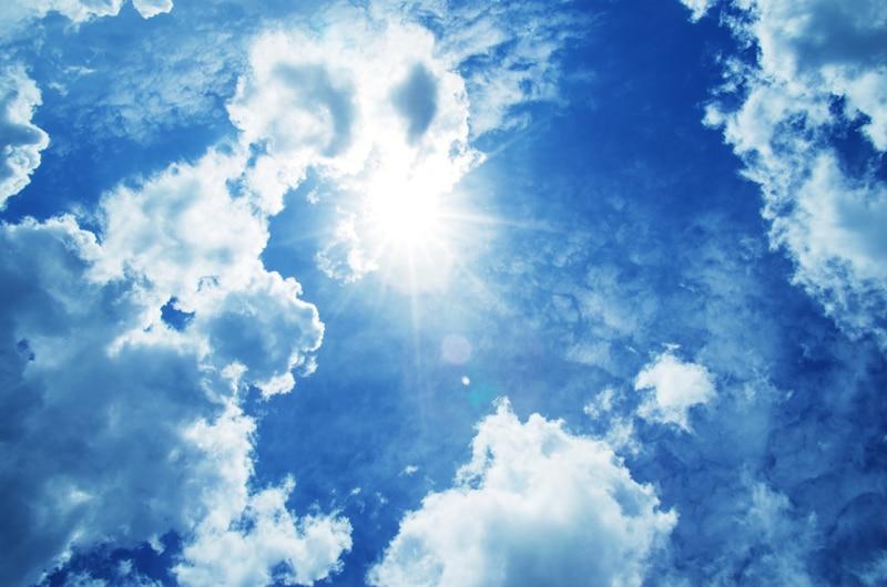HUAYI 8x12ft Toile de Fond Bébé accessoires photo Milieux Photographie décors Contexte Nouveau-Né Photographie Props bleu ciel Xt-3542