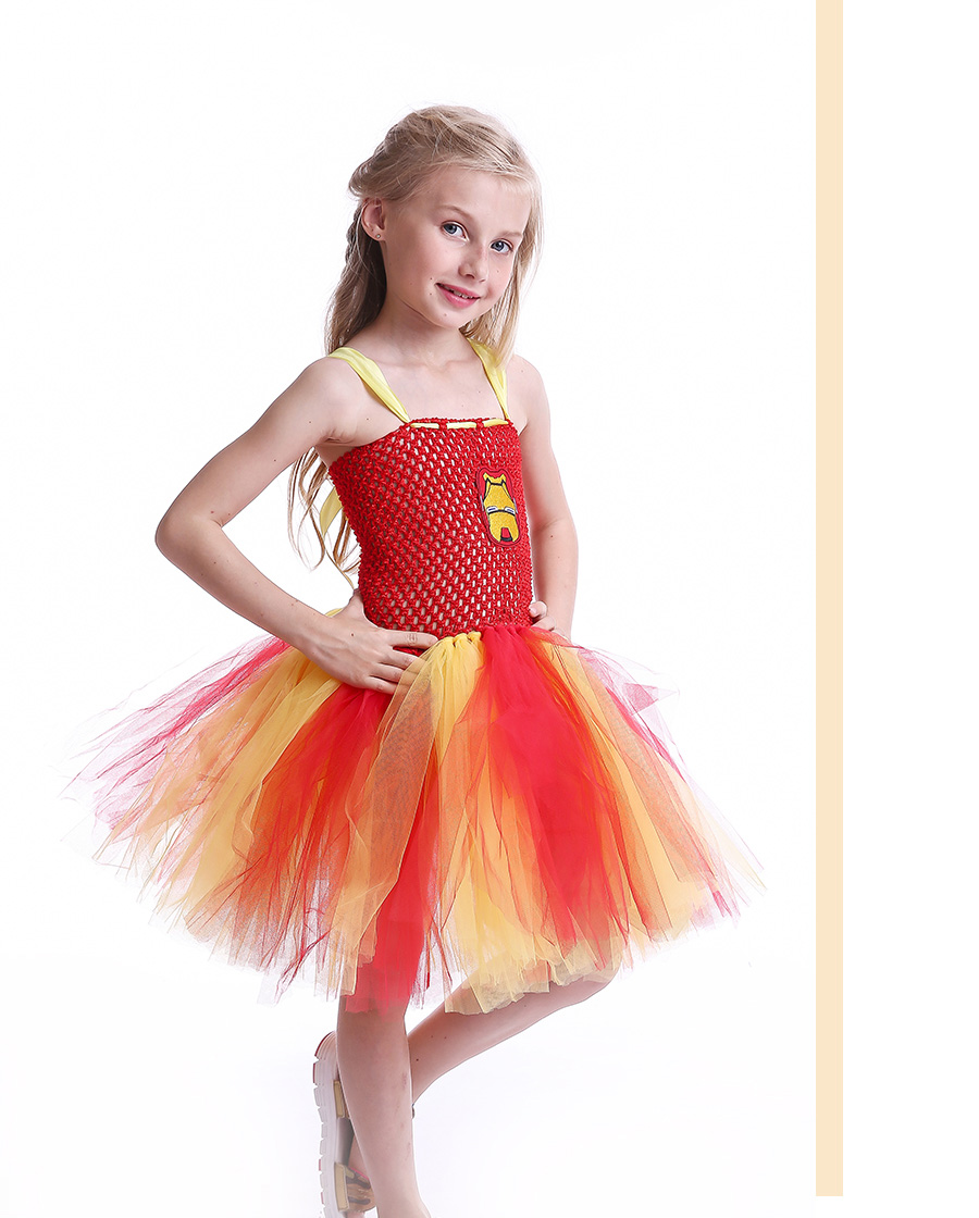 Iron Man Girls Tutu Dress Cartoon Baby Gril Halloween Cosplay Party Dress Handmade Fancy Superhero Inspired (6)