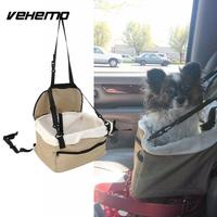 Vehemo качество Собака Щенок Cat автокресло детское сиденье Перевозчик авто автомобиль поводок