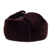 RY918 Топ, зимняя Черная шапка-бомбер из натуральной кожи, Мужская меховая шапка Mex с ушками внутри, теплые шапки, мотоциклетная шапка, Русская Шапка