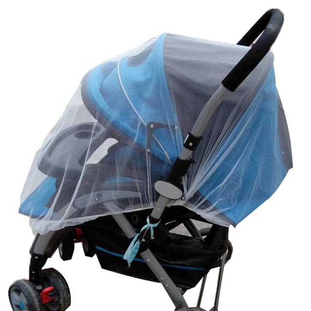Baby Stroller Pushchair Mosquito Insect Shield Net Safe Infants Protection Mesh Stroller Accessories Mosquito Net 2017 4