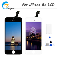 1PCS Alibaba China No Dead Pixel Repair Screen For Apple IPhone 5s LCD Display Replacement Digitizer
