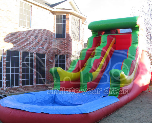 Hot selling inflatable slide,water slide,water game,inflatable water slide for kids
