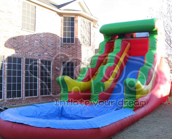 Venda quente corrediça inflável, corrediça de água, jogo da água, corrediça de água inflável para as crianças